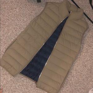 Zara mans puffer vest